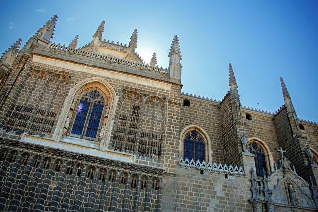 Fachada do Monasterio de San Juan de los Reyes