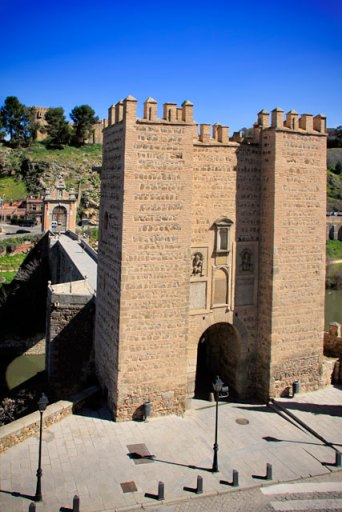 Ponte de Alcántara sobre o rio Tejo