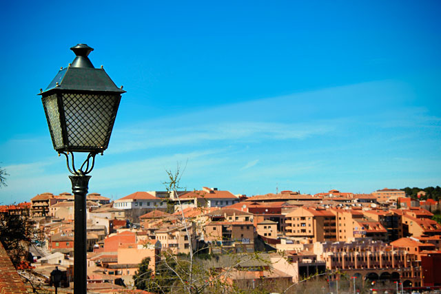 Panorama visto da Bajada Alcántara.