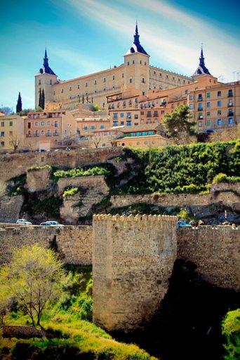 Alcázar, visto do outro lado do Tejo