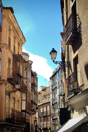Pelas ruelas de Toledo