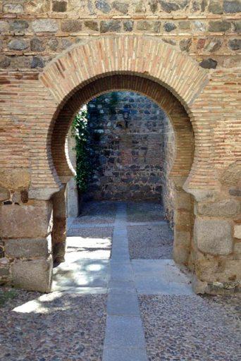 Puerta de Doce Caños, que dá acesso à Bajada Alcántara
