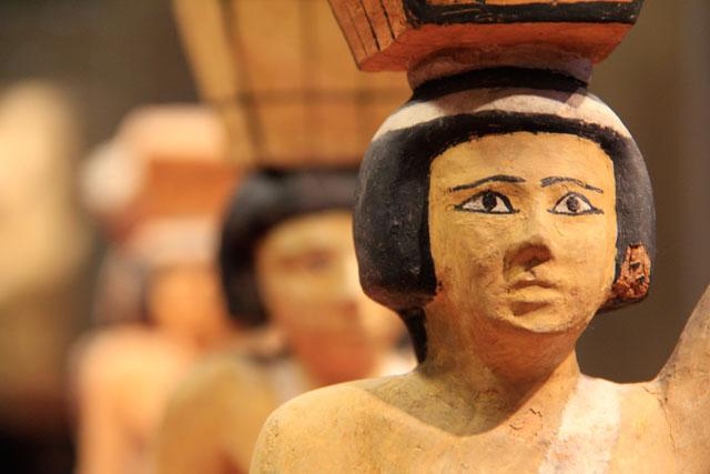 Arte da antiguidade egípcia, no Louvre