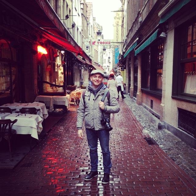 Eu na Petite Rue des Bouchers (via Instagram)