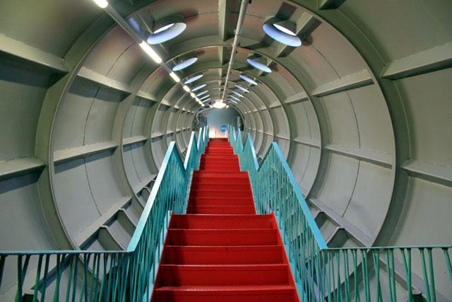Interior do Atomium