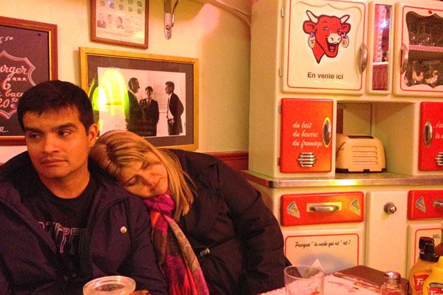 Igor e Maíra, no Le Fil Rouge Café