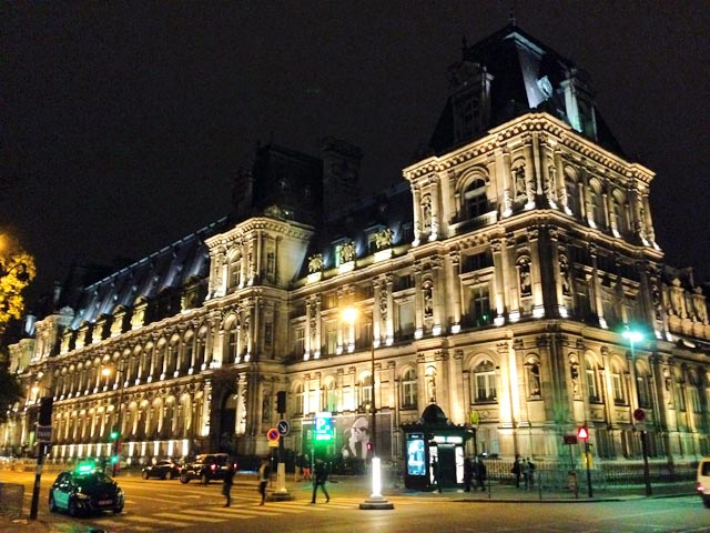 Hôtel de Ville, sede da prefeitura de Paris