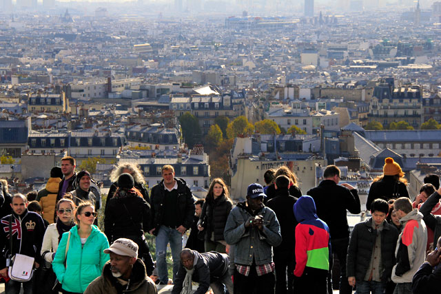 Paris vista da Sacré-Cœur