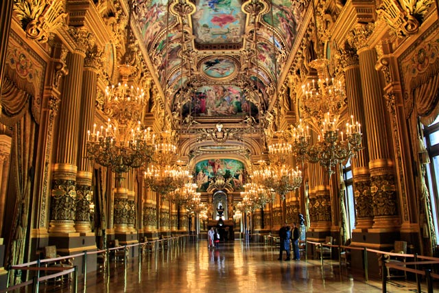 Grand Foyer do Opéra Garnier