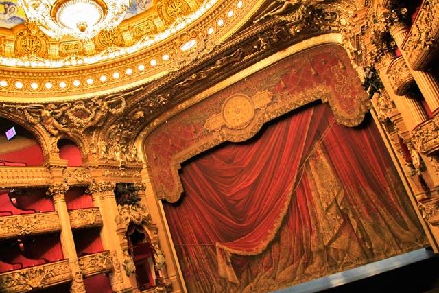 Anfiteatro do Opéra Garnier