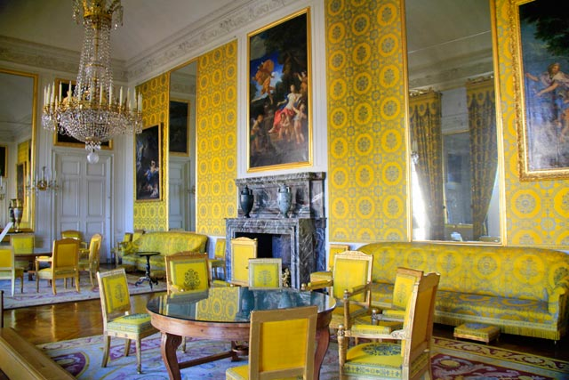 Salão da família de Louis-Philippe, rei da França