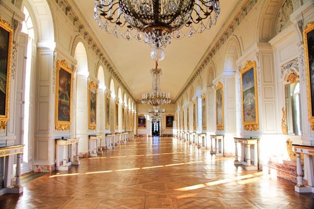 Galerie des Cotelles (Galeria das Cautelas), no Grand Trianon