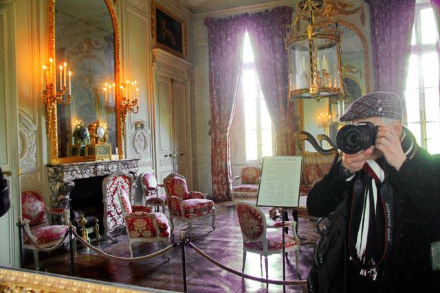 Salon de Compagnie do Petit Trianon, em Versalhes