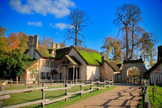 Celeiro da Hameau de la Reine, nas dependências do Petit Trianon
