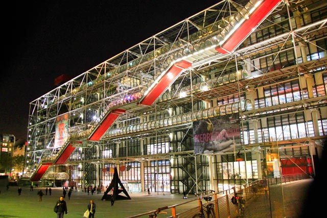 Fachada do Centre Georges Pompidou