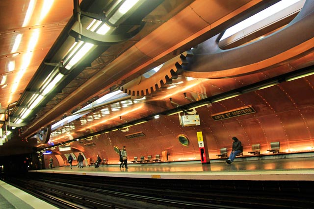 Estação de metrô Arts et Métiers