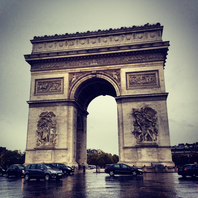Arco do Triunfo (via Instagram)