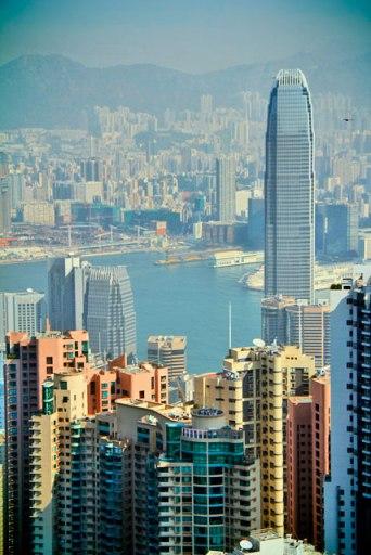 Vista do mirante The Sky Terrace 428