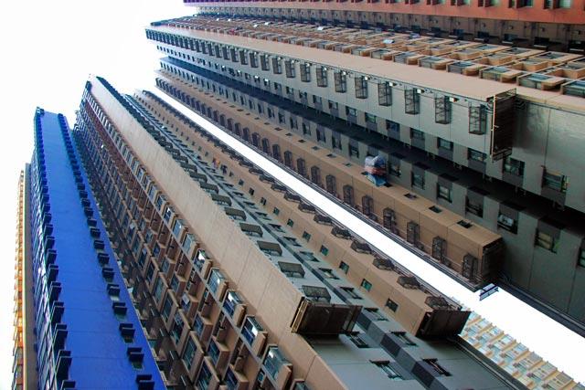 Edifícios residenciais de Hong Kong
