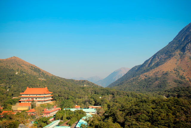 Po Lin Monastery visto do Buda Gigante