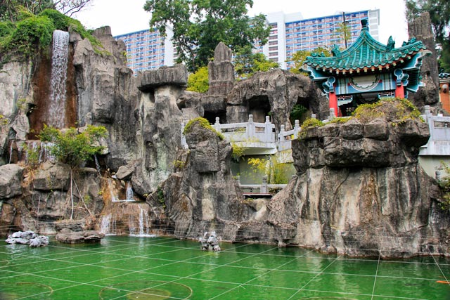 Good Wish Garden, no Wong Tai Sin Temple