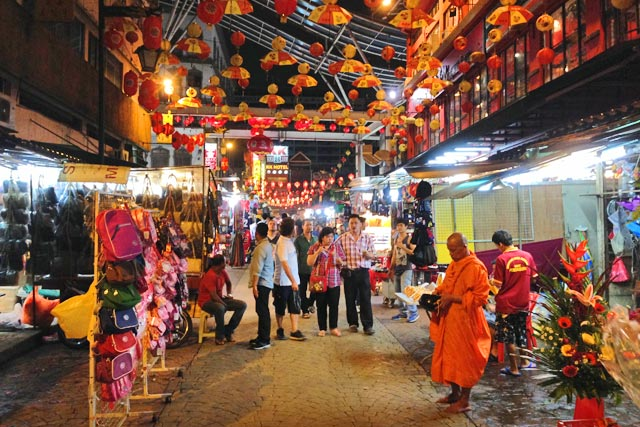 Comércio na Jalan Petaling