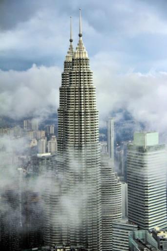Petronas Twin Towers vistas da KL Tower