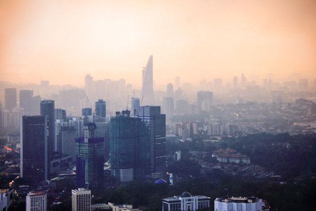 Kuala Lumpur vista da KL Tower