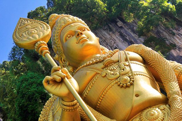 Estátua de Murugan, em Batu Caves