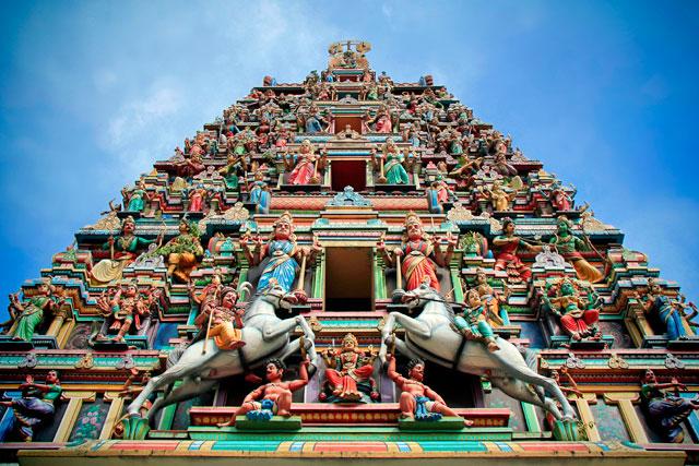 Entrada do Sri Mahamariamman Temple
