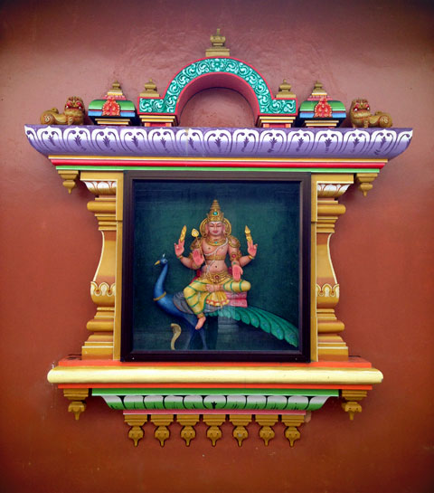 Sri Mahamariamman Temple (via Instagram)
