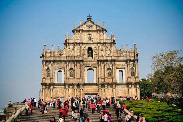 Ruínas de São Paulo, em Macau