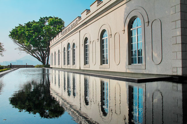 Museu de Macau, na Fortaleza do Monte