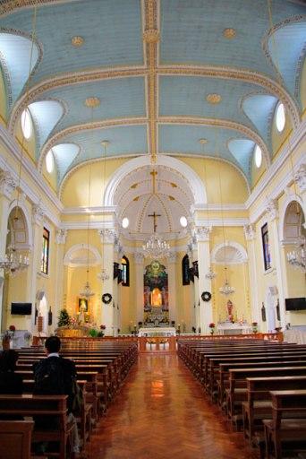 Interior da Igreja de São Lourenço