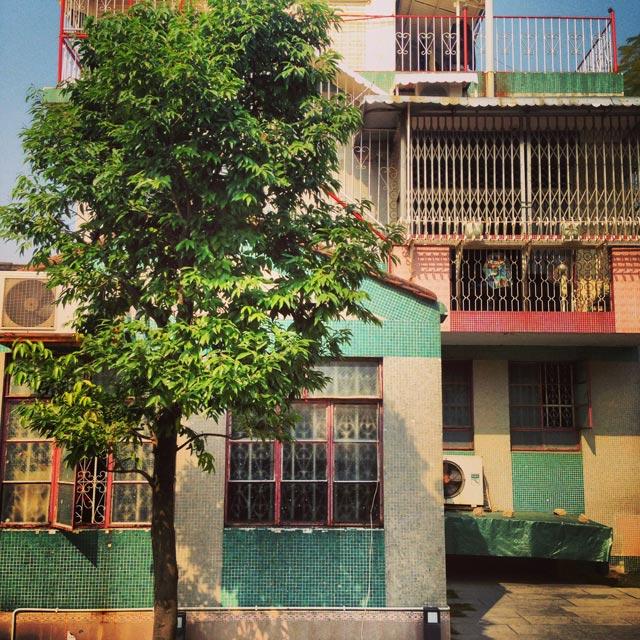 Habitação ao lado do Templo de Na Tcha (via Instagram)