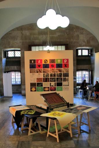 Exposição dos alunos do IADE, no Palácio Quintela