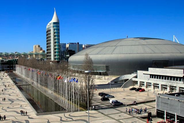 Rossio dos Olivais e pavilhão da MEO Arena