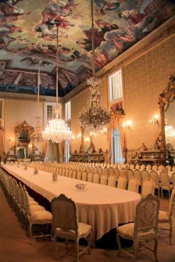 Salão de baile do Palácio Nacional da Ajuda