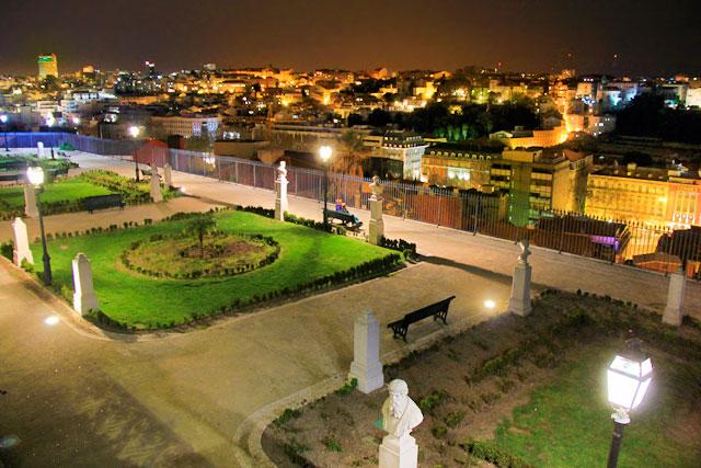 Jardim de São Pedro de Alcântara, no Miradouro de São Pedro de Alcântara