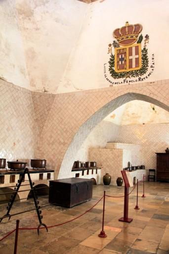 Cozinha do Palácio Nacional de Sintra