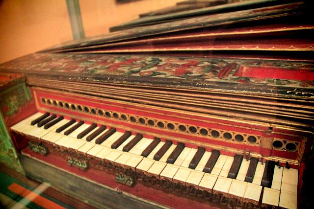 Instrumento da Coleção de Antigos Instrumentos Musicais
