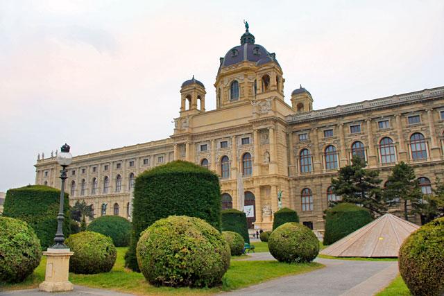Edifício do Kunsthistorisches Museum