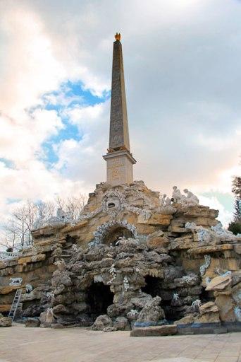 Obeliskbrunnen, no Schloss Schönbrunn