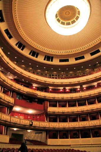 Auditório da Wiener Staatsoper