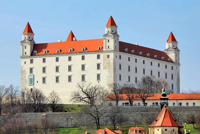 Bratislavský hrad (Castelo de Bratislava), em Bratislava