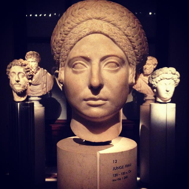 Peças da Coleção de Antiguidades Gregas e Romanas, no Kunsthistorisches Museum