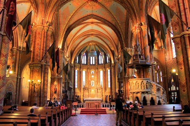 Interior da Igreja de São Matias