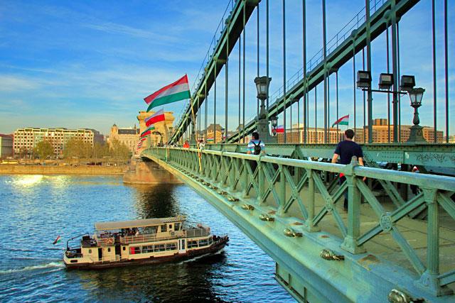 Ponte Széchenyi Lánchíd (Ponte das Correntes)