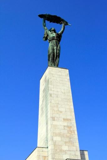 Estátua da Liberdade, na Colina de Gellért