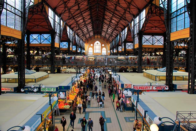 Nagycsarnok (mercado central)